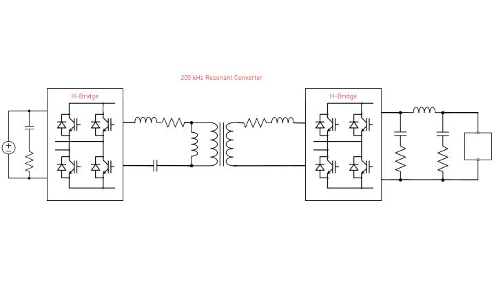 200 kHz Resonant Converter