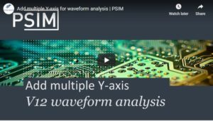 Add multiple Y-axis for waveform analysis