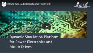 Introduction to Auto-Code Generation for F2833X DSP