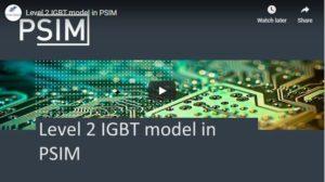 Level 2 IGBT model in PSIM