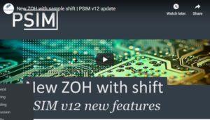 ZOH sample shift Intro | PSIM v12