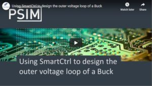 Using SmartCtrl to Design Outer Voltage Loop of a Buck
