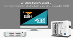 Get Started with PE Expert 4 - Easy Implementation of a Modular Multi-Level Converter (MMC)