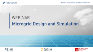 Microgrid Design and Simulation