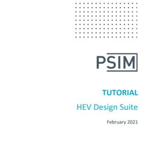 HEV Design Suite