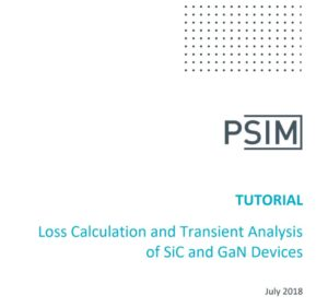 Loss Calculation and Transient Analysis of SiC and GaN Devices