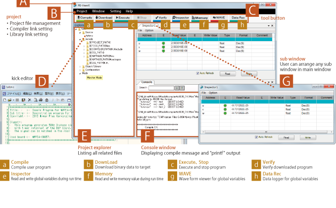 PE-ViewX software for PE-Expert4