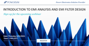 Introduction to EMI Analysis and EMI Filter Design